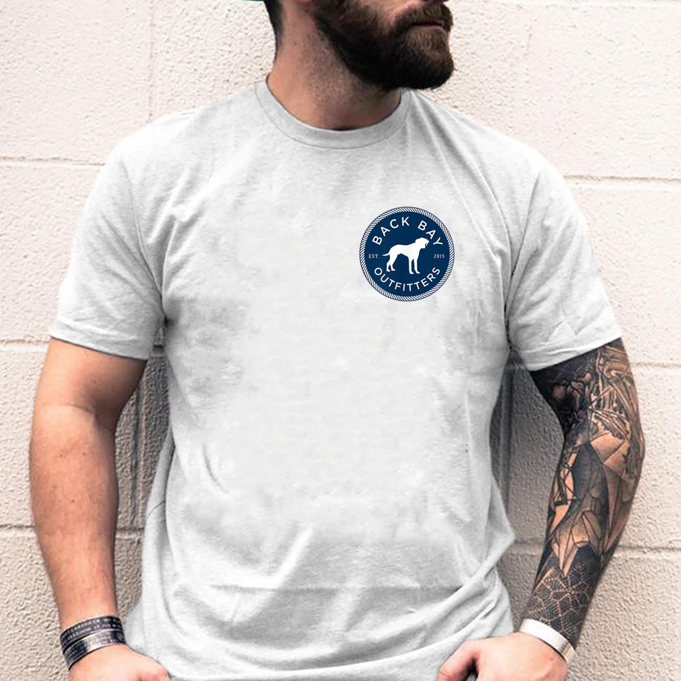 Back Bay Outfitters FrontBack Logo More colors Shirt