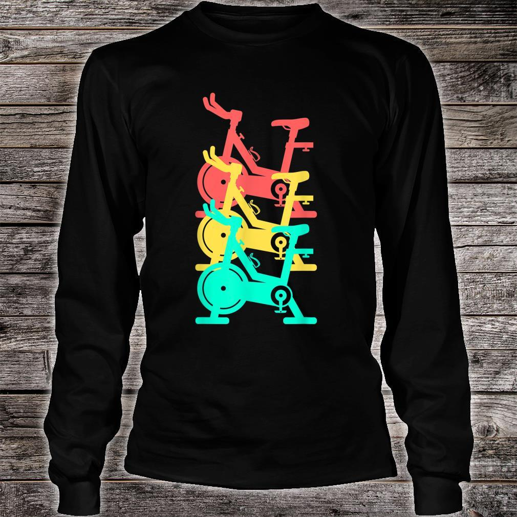 Indoor Cycling Spin Class Gym Workout Exercise Bike Fitness Shirt long sleeved
