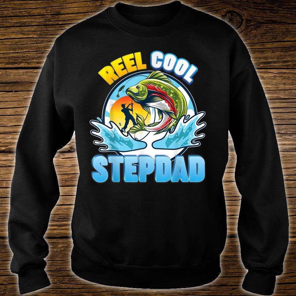 Reel Cool Stepdad Fishing Dad Father Day Papa Daddy Shirt sweater