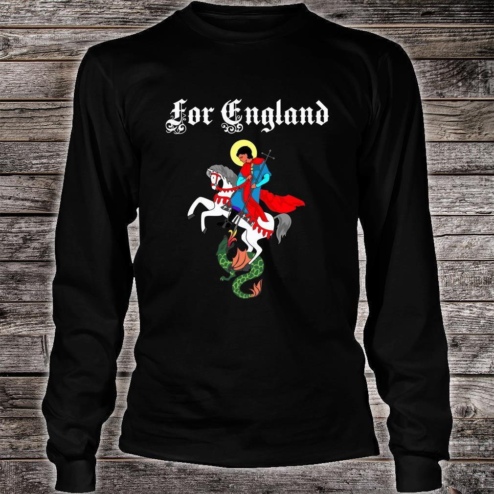St. George's Day For England Shirt long sleeved