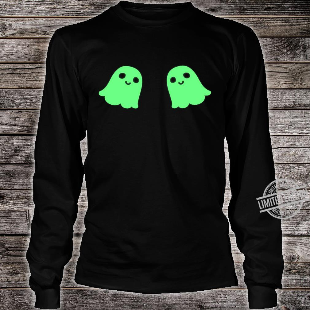 Boo Boo Boobs Happy Halloween Shirt long sleeved