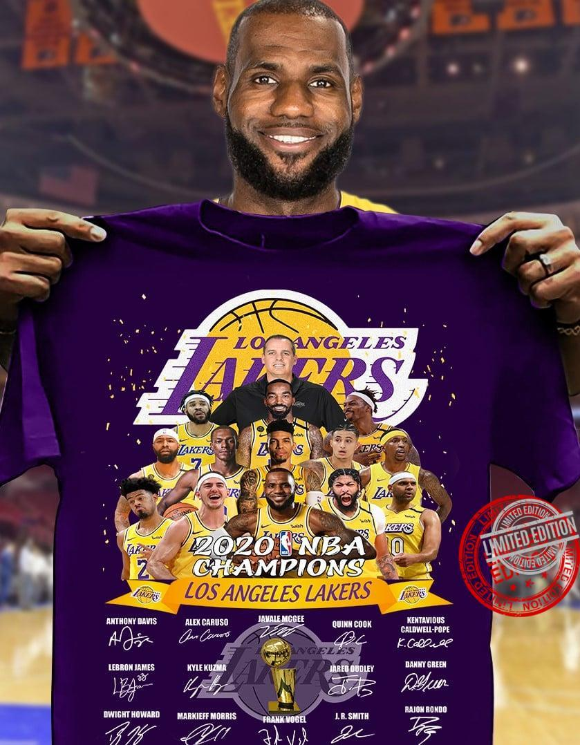 Los Angeles Lakers Is The Champions 2020 NBA Shirt